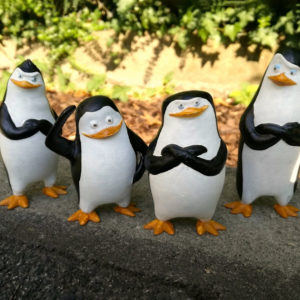 3D-printed-The-Penguins-of-Madagascar