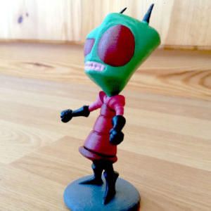 3D-printed-Zim-from-Invader-Zim