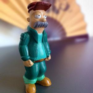 3D-printing-Scruffy-Scruffington-from-Futurama