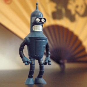 3d-Printing-Bender-from-Futurama