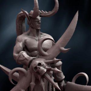 Demon-Elb-for-3D-Printing