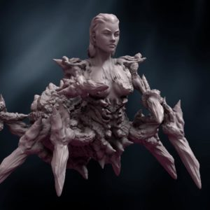 Spider-Queen-for-3D-Printing